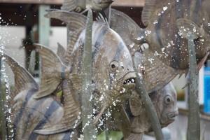 Aquarium Fish Sculpture