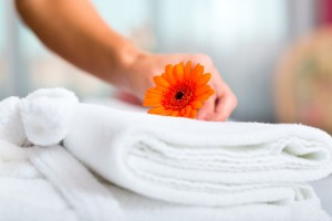 Towels for Linen Service
