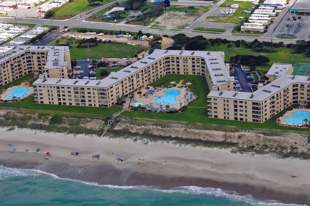 Summer Winds Condos in Indian Beach, NC