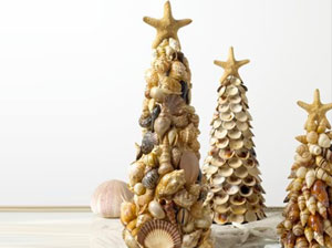 Beach Crafts Seashell Trees SM