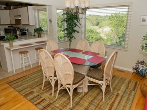 Heverly Heaven East Vacation Rental Dining Room in Emerald Isle NC