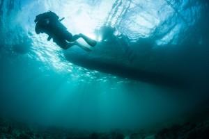 Crystal Coast Shipwreck Scuba Diver