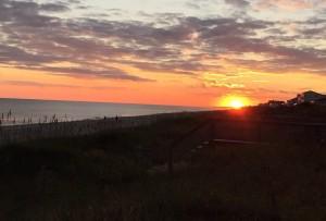 Emerald Isle NC Sunset