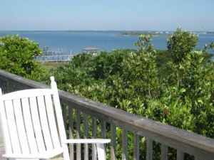 A Peaceful Sound Deck View -- Vacation Rental in Emerald Isle NC