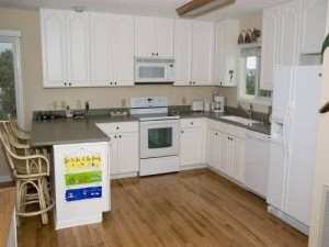 A Peaceful Sound Vacation Rental Kitchen in Emerald Isle NC
