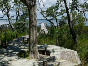 A Peaceful Sound Walkway to Bogue Sound -- Vacation Rental in Emerald Isle NC