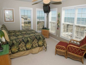 Gull Cottage East Vacation Rental Bedroom in Emerald Isle NC
