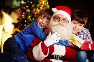 Santa With Kids 12-4-2014