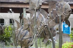 North Carolina Aquarium Sculpture