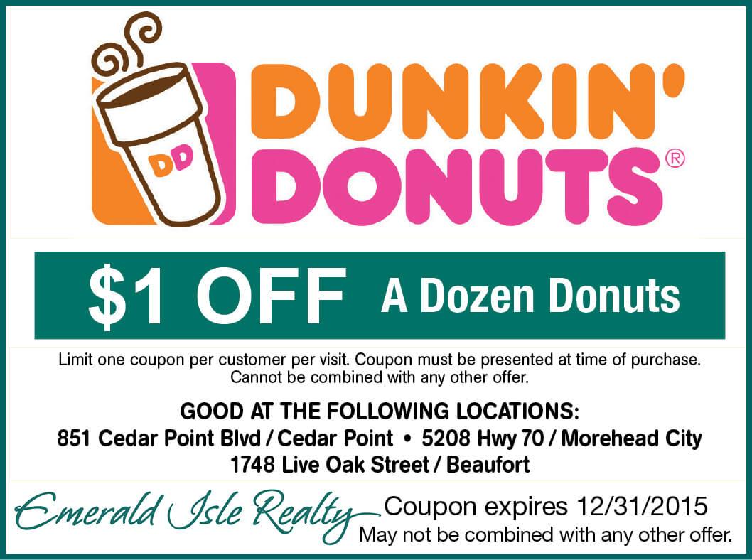 Dunkin' Donuts Emerald Isle NC