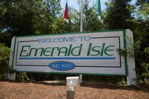 Emerald Isle, NC Sign
