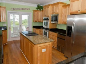 Coral Treasure Vacation Rental Kitchen in Emerald Isle NC