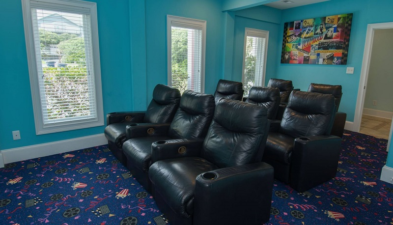 Coral Treasure - Theater Room