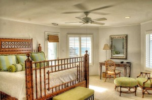 Tucked Away Vacation Rental Bedroom in Emerald Isle NC
