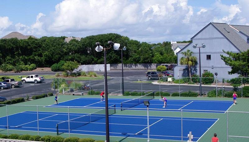 Pebble Beach Condos - Tennis Courts