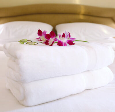 Linens Provided for Vacation Rentals