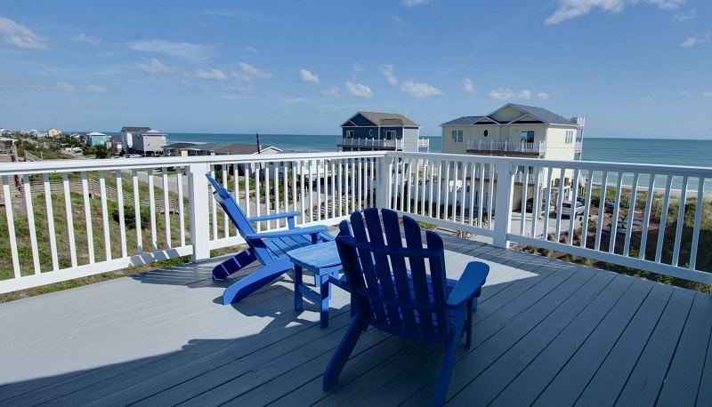 Tucked Away - Deck with View