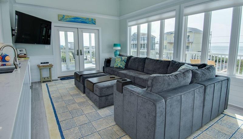 Tucked Away - Living Room