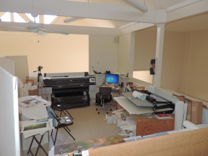 Morehead Commercial Property work room 5-20-2015