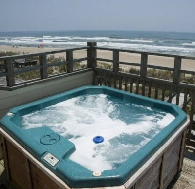 Homes with Hot Tubs in Emerald Isle NC