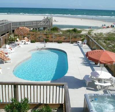 Crystal Coast Vacation Rentals with Amenities