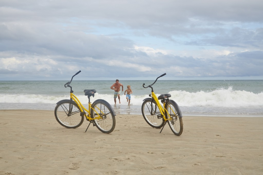 Biking on the Beaches of Emerald Isle North Carolina
