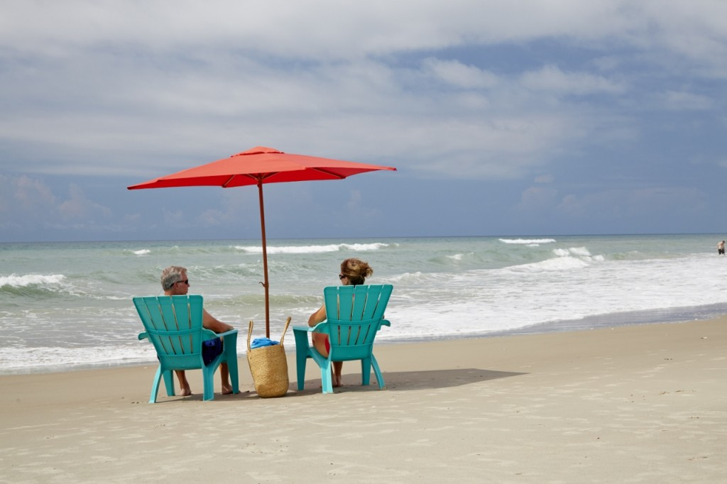 Couples Relaxing on a Weekend Getaway in Emerald Isle