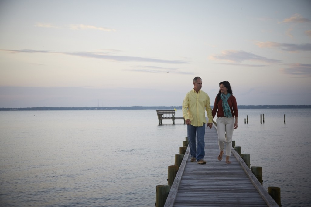 Couple Enjoy a Relaxing Weekend Getaway on North Carolina's Crystal Coast