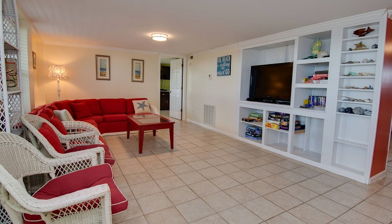 By the Beach - 2nd Living Area