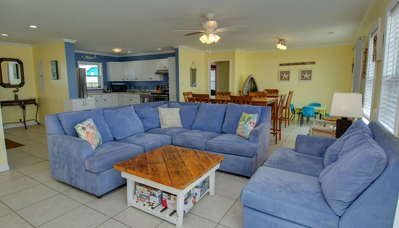 By the Beach - Living Area