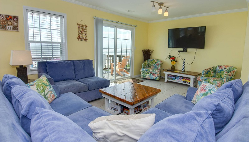 By the Beach - Living Room
