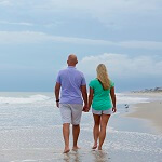 Stroll on Emerald Isle Beaches
