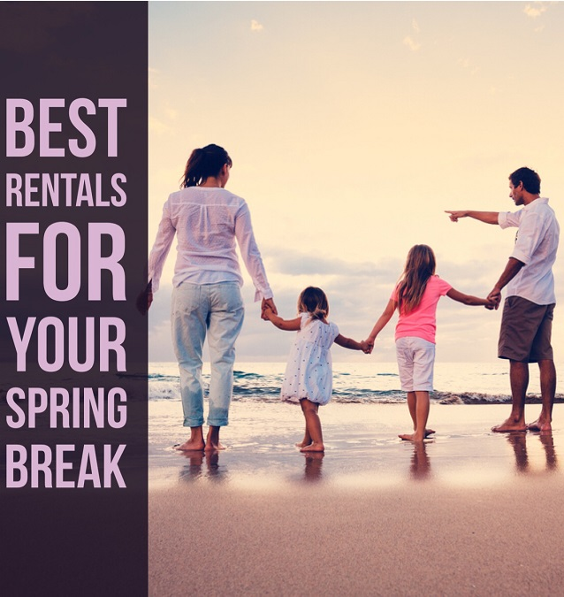Best Rentals for Spring Break on North Carolina's Crystal Coast