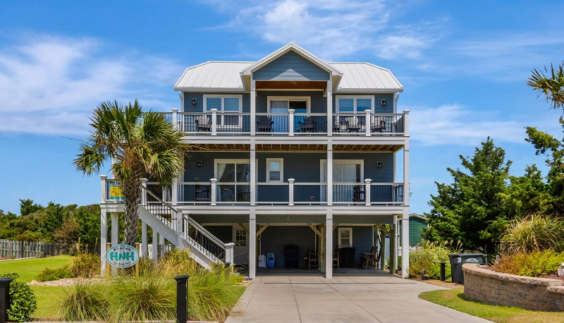 He's Not Here - Emerald Isle Realty Featured Property of the Week