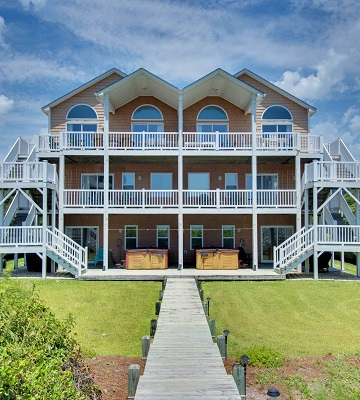 Bahama Breeze East and West - Duplex Rentals in Emerald Isle, NC