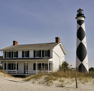 Cape Lookout Lighthouse on NC's Crystal Coast