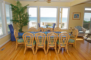 Beach Odyssey - Dining Room blog