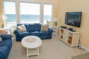 Beach Odyssey - Second Living Room blog