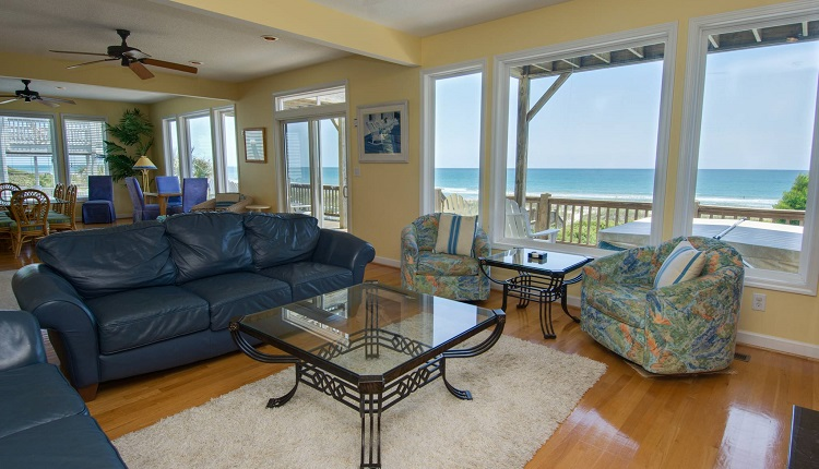Beach Odyssey - Living Room