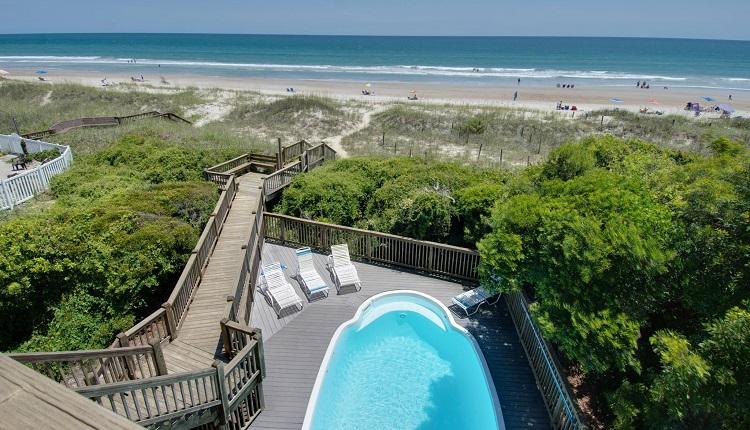 Beach Odyssey - View from Upper Deck