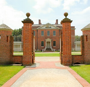 Tryon Palace in New Bern, NC