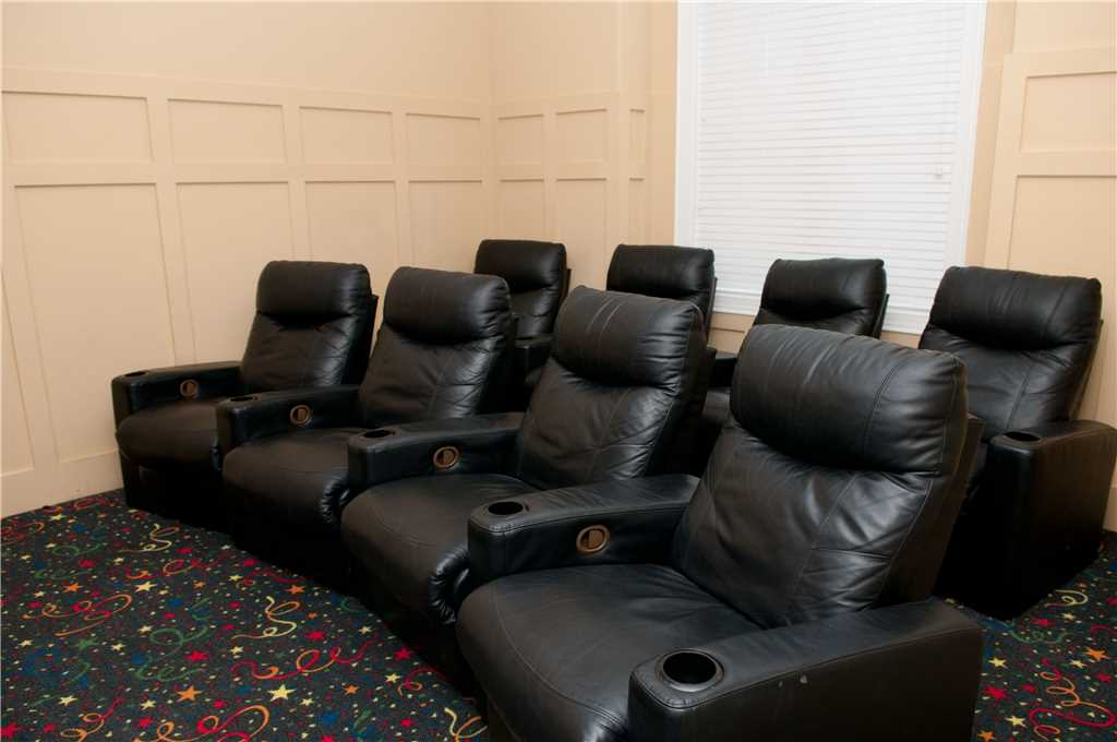 Tickled Pink Media Room
