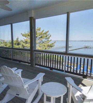 Boat House, soundfront vacation rentals in Emerald Isle