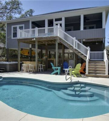 Bogue Banker, vacation rentals with outdoor patios and grills
