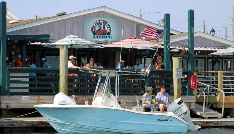 The Ruddy Duck Tavern in Morehead City NC