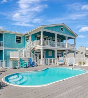 Serenity Shores, vacation rentals with pools and hot tubs