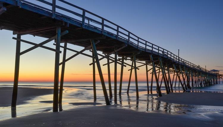 North Carolina Beach Town - Atlantic Beach, NC