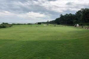 Golf Course at Crystal Coast Country Club in Pine Knoll Shores, NC