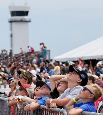 Crowd at MCAS Cherry Point Air Show