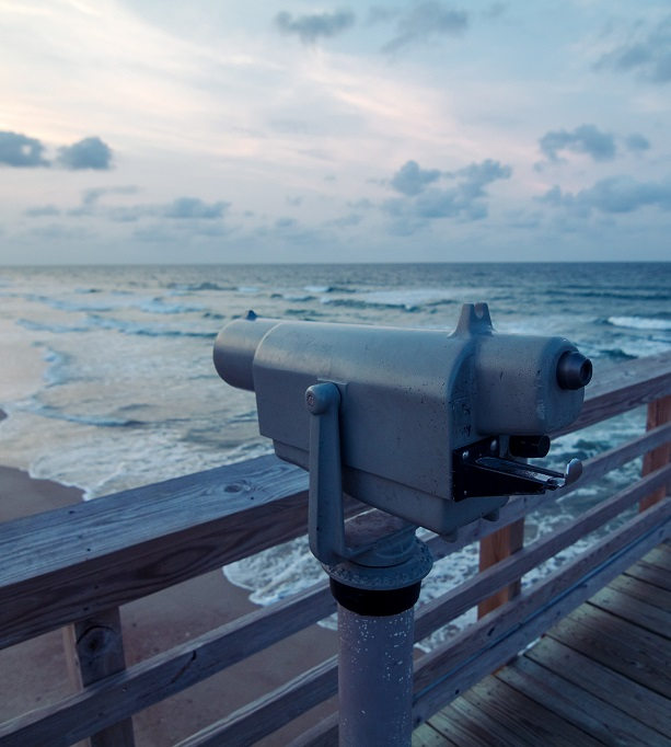 Enjoy fishing, birding and great views from Bogue Inlet Pier